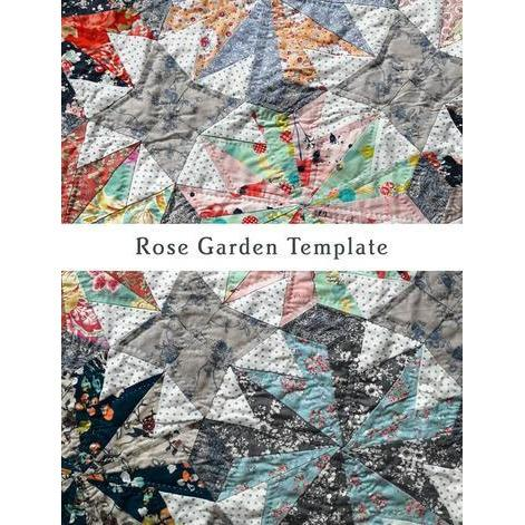Rose Garden Pattern & Template - Emma Mary Designs - Stitches from the Bush