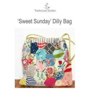 Sweet Sunday Dilly Bag in Liberty Starter Kit - Stitches from the Bush