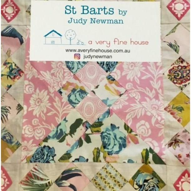 St Barts Quilt Template - Judy Newman - Stitches from the Bush