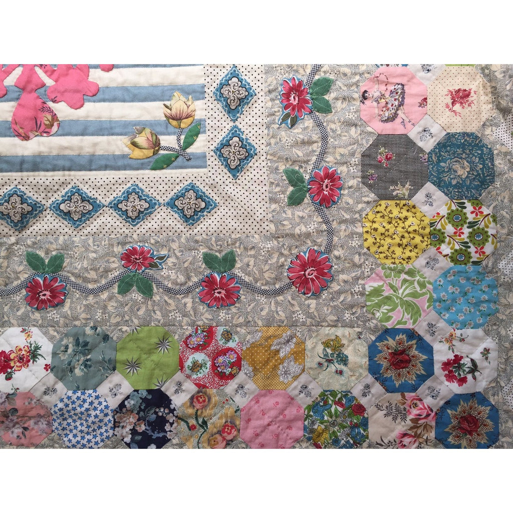 Strafford Manor Quilt Pattern & Starter Kit - Judy Newman - Stitches from the Bush