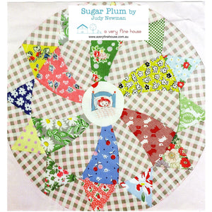 Sugar Plum Quilt Templates - Judy Newman - Stitches from the Bush