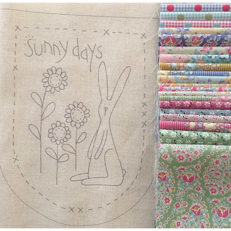 'Sunny Days Bunting' Starter Kit - A Birdhouse Design Project - Stitches from the Bush