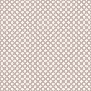 Tilda Classic Basics Paint Dots Grey - 130036 - Stitches from the Bush
