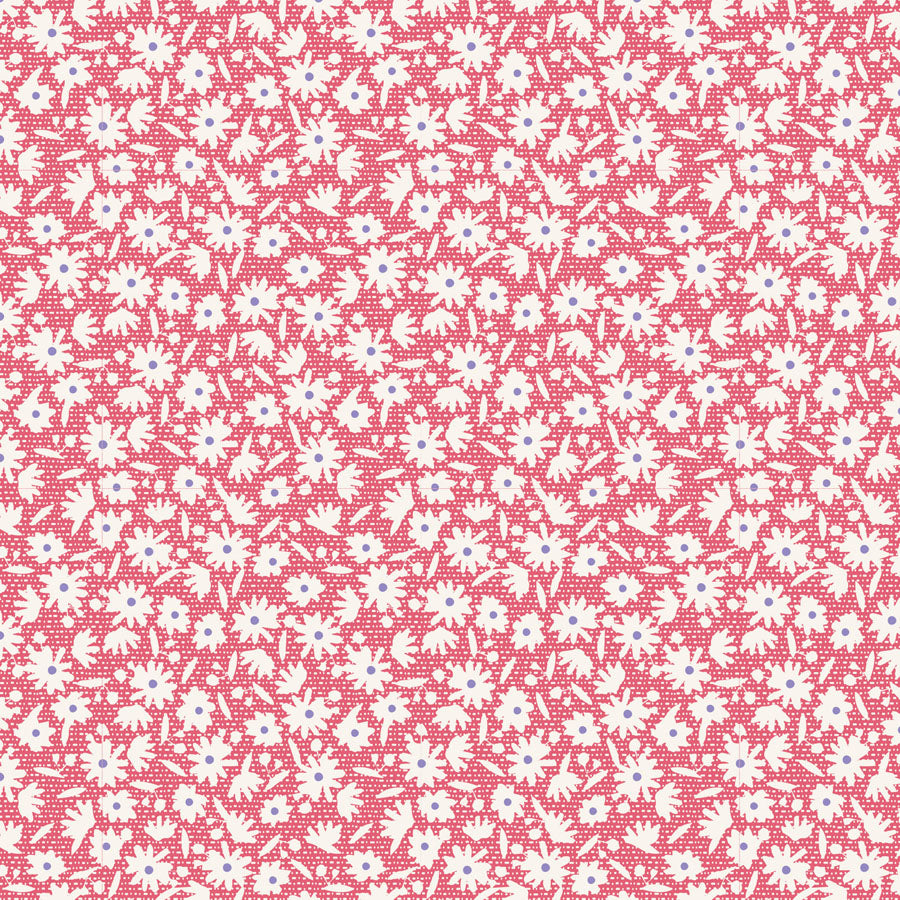 Tilda Bon Voyage Paperflower Red - 100260 - Stitches from the Bush