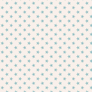 Tilda Classic Basics Tiny Star Light Blue - 130038 - Stitches from the Bush