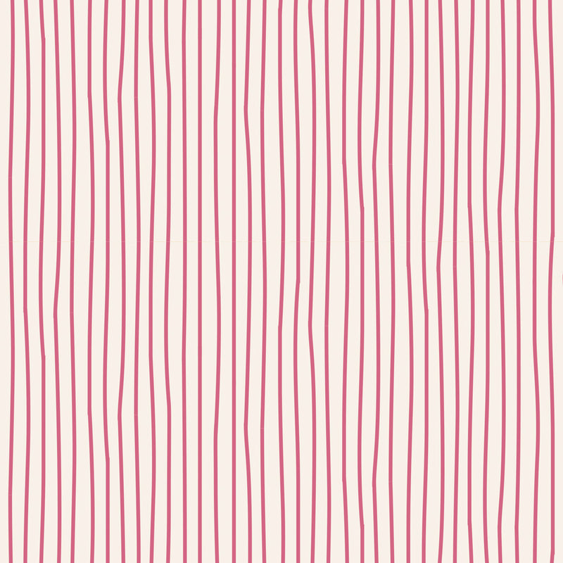 Tilda Classic Basics Pen Stripe Pink - 130031 - Stitches from the Bush