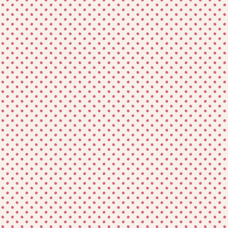 Tilda Classic Basics Tiny Dots Pink - 130046 - Stitches from the Bush