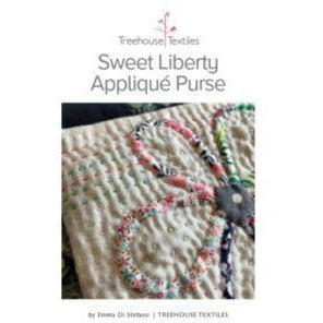 Sweet Liberty Applique Purse - Treehouse Textiles - Stitches from the Bush