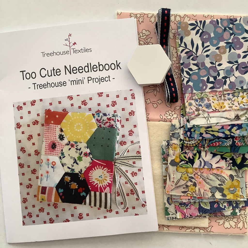 Too Cute Needlebook Starter Kit - Treehouse 'mini' Project - Stitches from the Bush