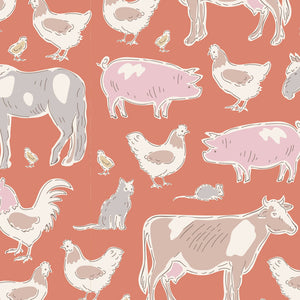 PRE-ORDER Tilda Tiny Farm Animals Ginger  - 110014 - Stitches from the Bush