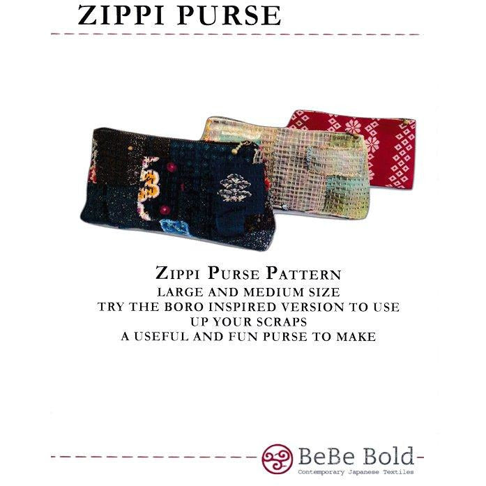 Zippi Purse PATTERN ONLY - A Bebe Bold Design