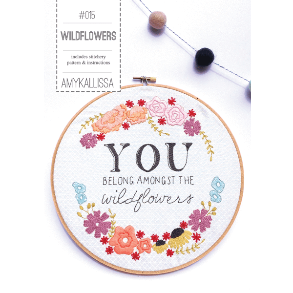 Wildflowers  - Amy Kallissa Designs - Stitches from the Bush