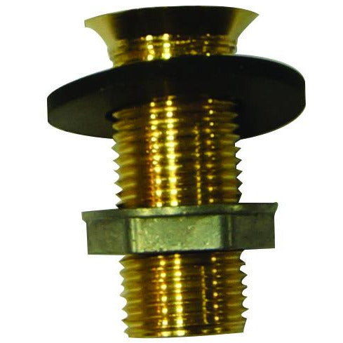 "2"" Brass Drain Assembly for Drip Trays"