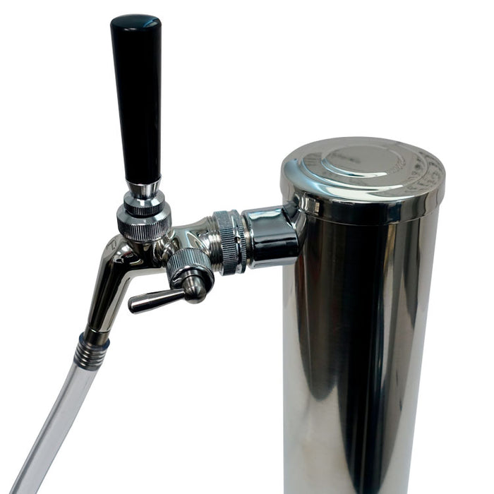 Growler Filler for Perlick 600 Series 304SS Faucets