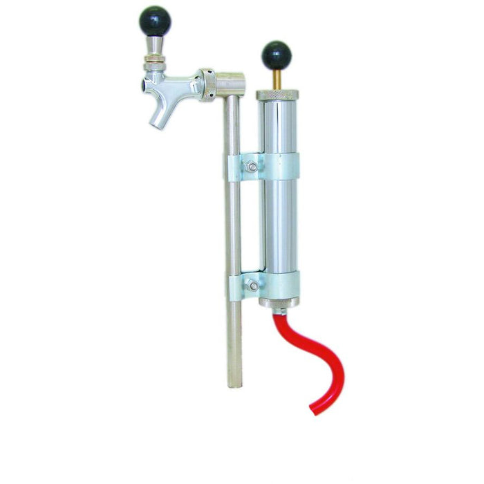 "Deluxe 8"" Party Pump with Rod & Faucet - No Keg Coupler"