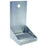 "6"" Brushed Stainless Steel Wall Mount Drip Tray with 1 hole"