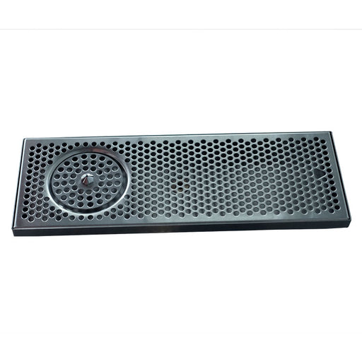 "20"" x 7"" Brushed Stainless Steel Spray Drip Tray"