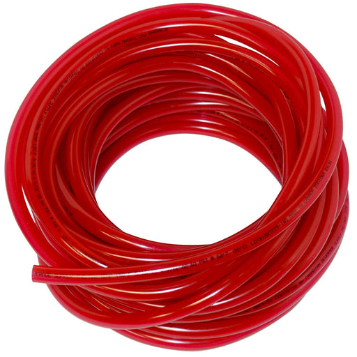 "100' of 5/16"" ID x 9/16"" OD Red Vinyl Gas Line"