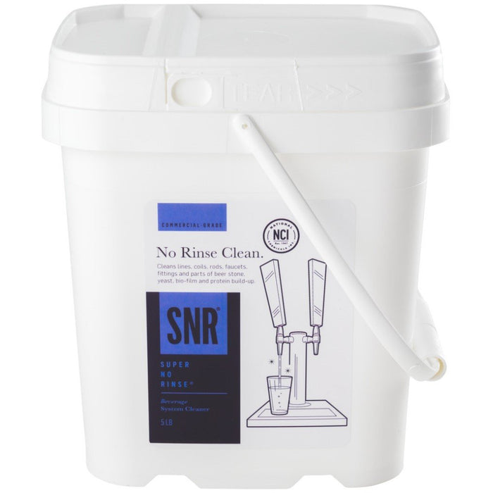 5lb Pail of Super No Rinse Powder Line Cleaner