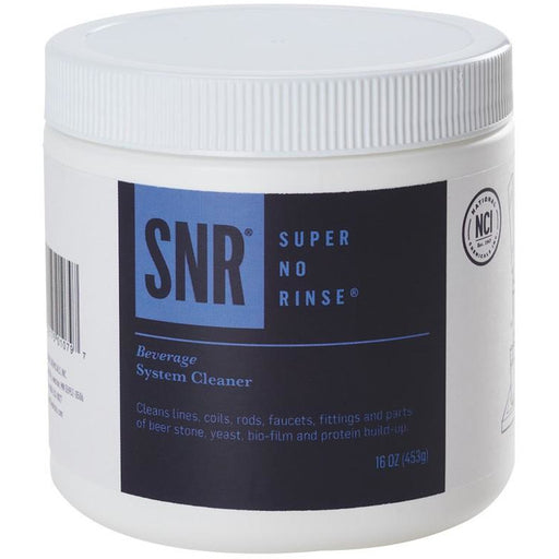 16oz Tub of Super No Rinse Powder Line Cleaner