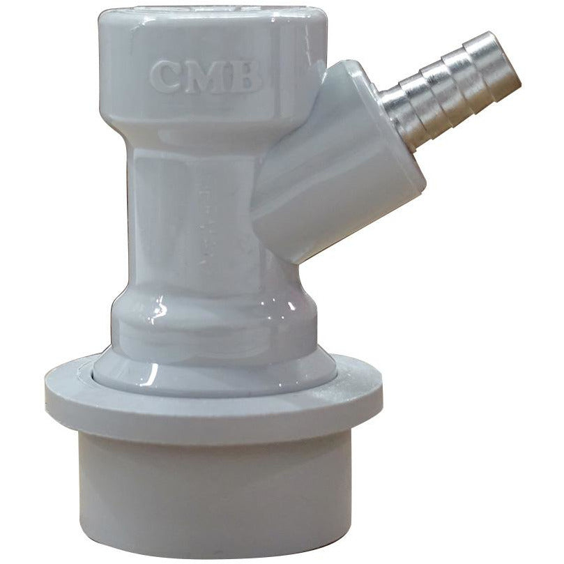 "CMB Grey Ball Lock Gas Quick Disconnect-1/4"" Barb"