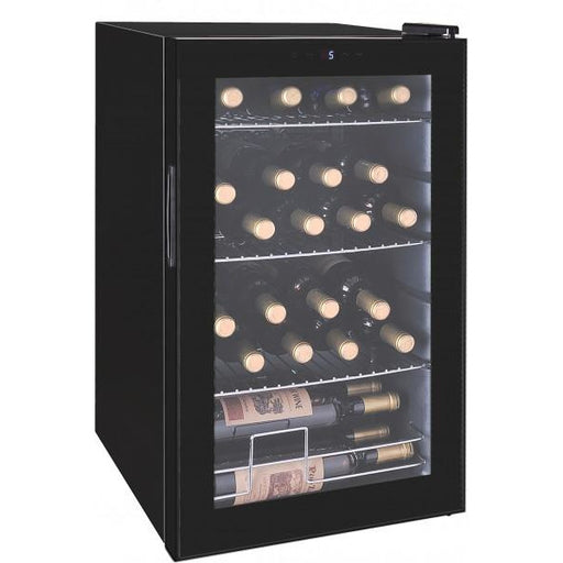 24 Bottle Glass Door Wine Cooler