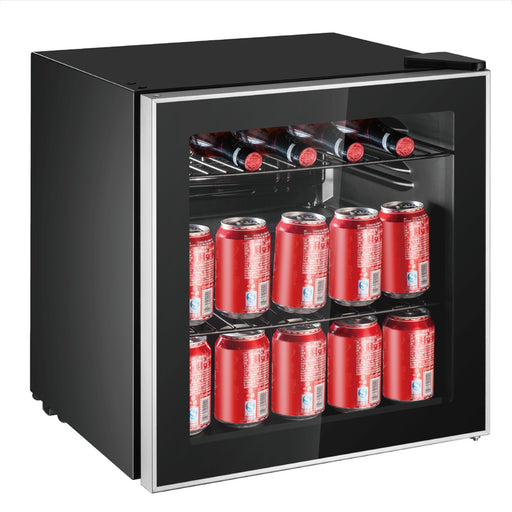 60 Can Glass Door Beverage Center
