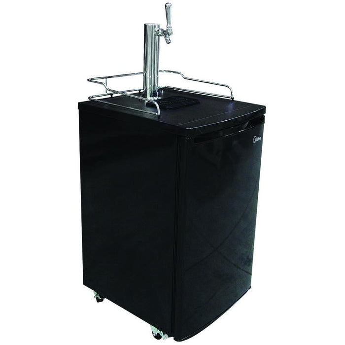 1 Tap Black Kegerator-Less Tapping Kit
