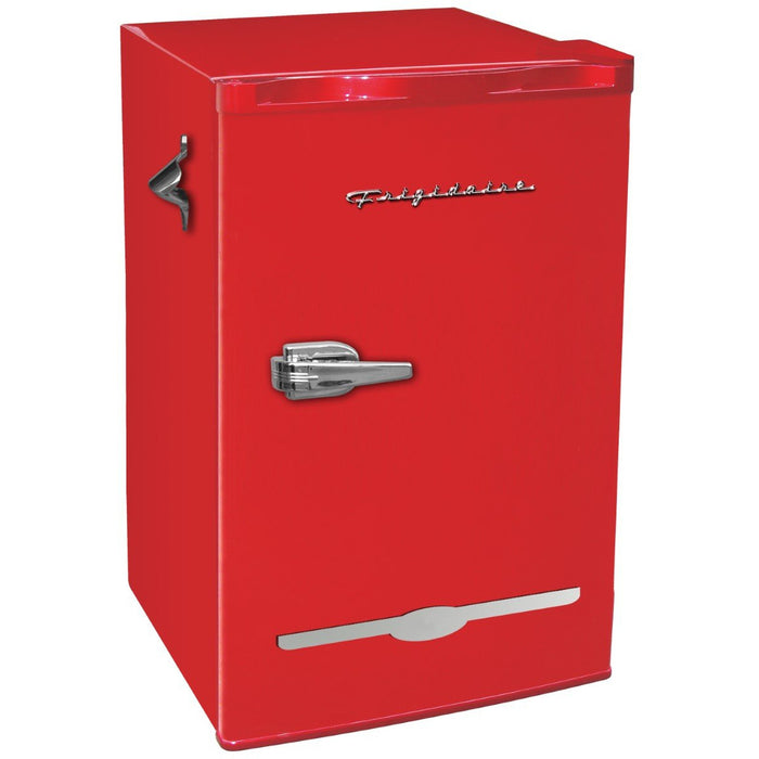 Retro 3.2 cu ft Red Mini Fridge