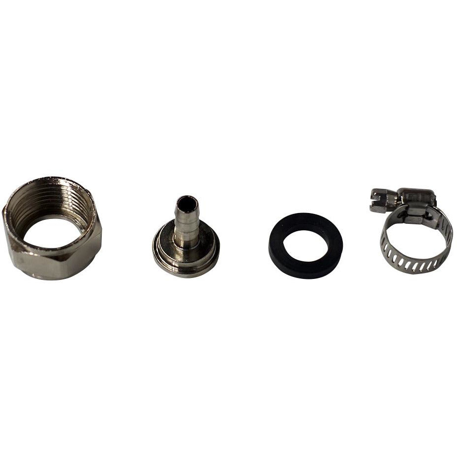 "Stainless Steel Connector Kit for 3/16"" ID Beer Line"