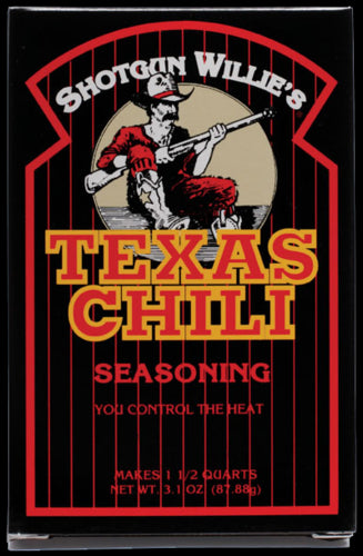 Shotgun Willie's Texas Chili Kit