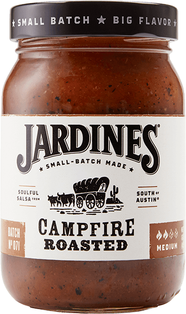 Campfire Roasted Salsa, Medium