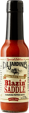 Load image into Gallery viewer, DLJ Blazin Saddle Habanero Pepper Sauce- new recipe
