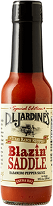 DLJ Blazin Saddle Habanero Pepper Sauce- new recipe