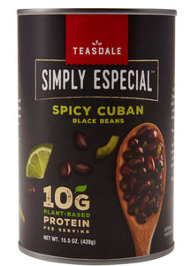 Teasdale Simply Especial Spicy Cuban Black Beans