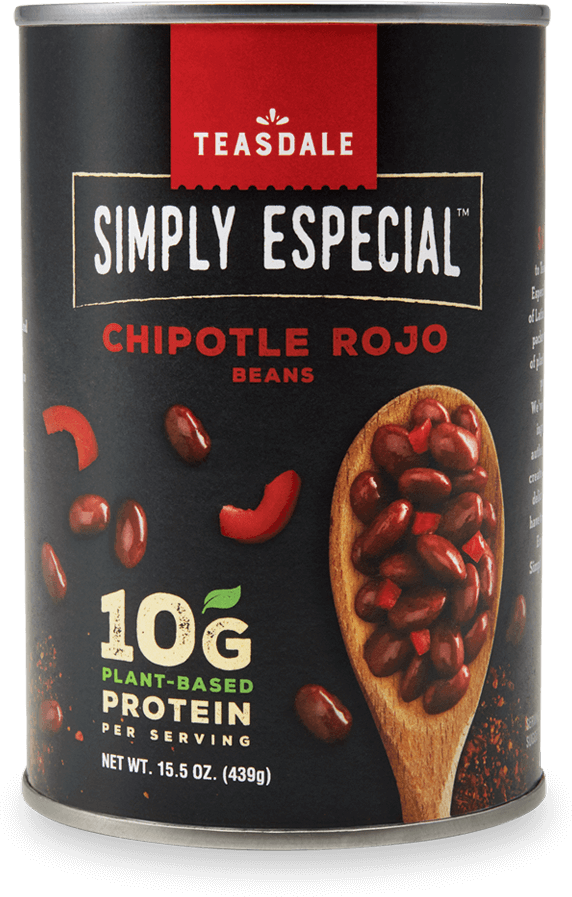 Teasdale Simply Especial Chipotle Rojo Beans