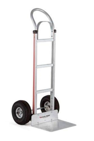 "Modular, Magliner Narrow Aisle Vinyl Grip Handle 10"" Tire Hand Truck (60"" Tall)"