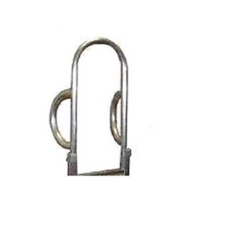"Modular Parts, Aluminum Double Vertical Loop 60"" Tall Merchandising Style Hand Truck Handle A16"