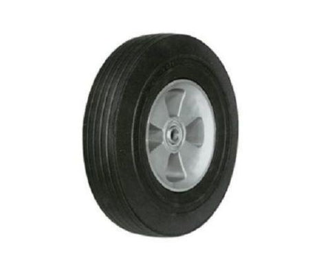 "Superior Brand, Solid Semi Pneumatic Hand Truck Tire 10"" D with 5/8"" ID Ball Bearing"