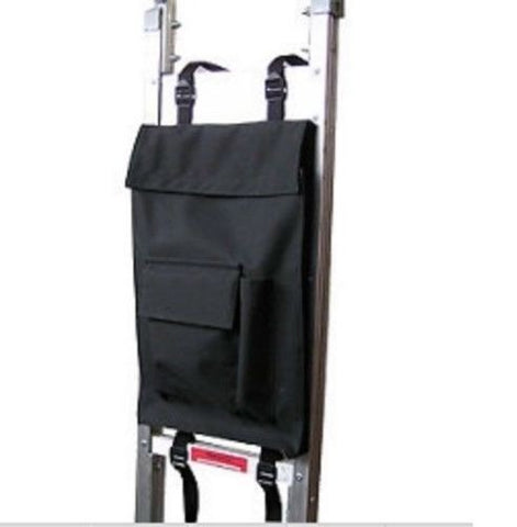 "Modular Parts, Universal Fit 12"" x 18"" x 2"" Canvas Accessory Bag 10# Cap (Hand Truck Straps)"