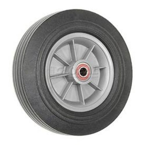 "Durable Superior, Magliner Offset Hub HandTruck Tire Solid Rubber 10"" Rubber Wheel 350# 5/8"" ID"