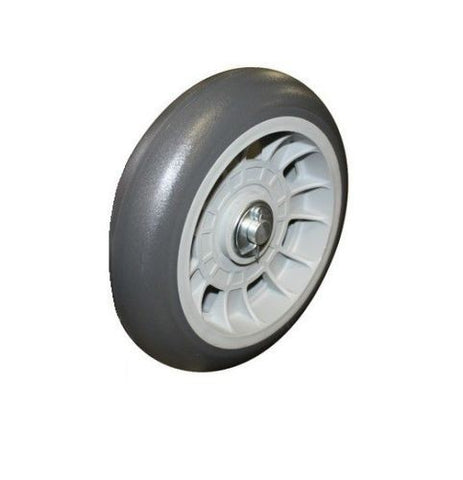 "Superior Brand, (One) Superior Offset Hub Hand Truck Tire 8""x 2"" Balloon Cushion 5/8"" Bearing"