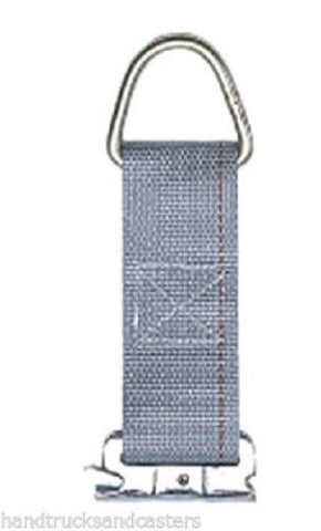 "Movers Equipment, Kinedyne Rope Tie Off Nylon Cargo Strap 2"" wide x 3 7/8"" Long x 6 1/2"" Length"