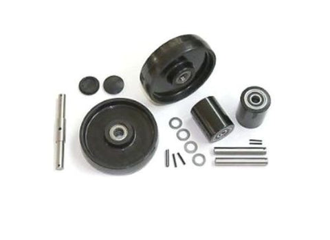 Multiton, Multiton TM M J Hand Control Pallet Jack Wheel Kit (Includes All Parts Shown)
