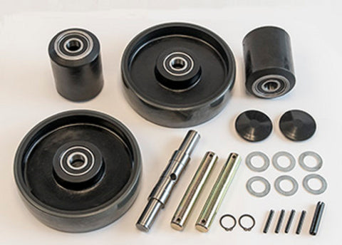 Crown, Crown PTH50 Pallet Jack Wheel Kit (Complete) (Includes All Parts Shown)