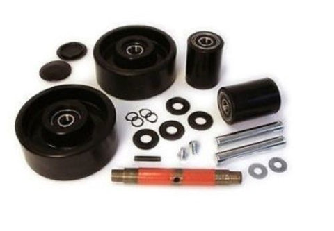 Jet Brand, Jet 'J' Pallet Jack Wheel Kit (Complete) (Includes All Parts Shown)