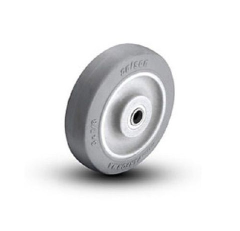 "Colson, Colson 3"" x 7/8"" Soft Rubber Wheel with 5/16"" ID [1-3-441] Performa"