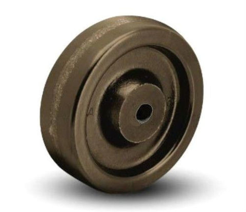 "Superior Brand, DuraTek 4"" x 1-1/2"" Phenolic Wheel with Plain Bore 3/4"" Won't Flatten"