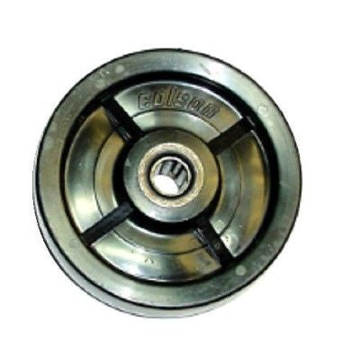 "Colson, Colson Solid Polyolefin 5"" x 1-1/2"" Wheel with 5/8"" ID Roller Bearing 700# Cap"