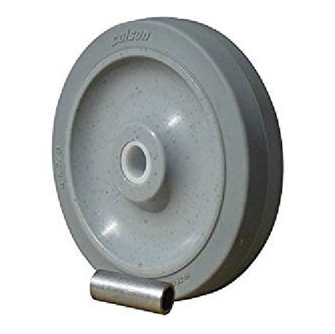 "Colson, Colson 4"" x 7/8"" Soft Rubber Wheel with 5/16"" ID [1-1-441]4 Performa"